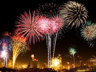 Oster-Feuerwerk